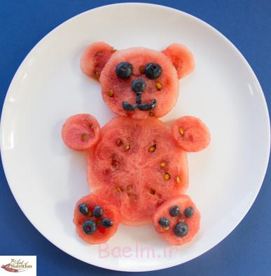 Fun food for picky kids teddy bear
