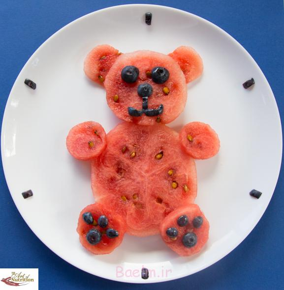 Sugar free party food teddy bear