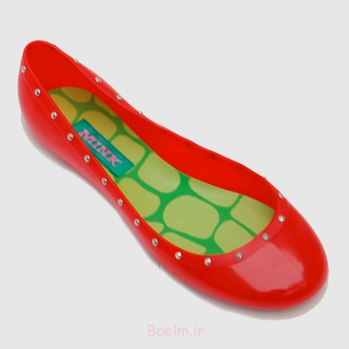 Vegane Schuhe Rebecca Mink Designerschuhe ballerinas rot