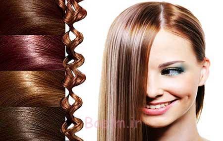 گروه رنگ موهای زمستانی