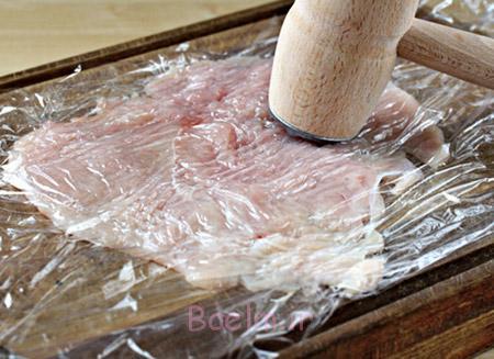 طرز پخت رولت مرغ,رولت مرغ در فر,مواد لازم رولت مرغ