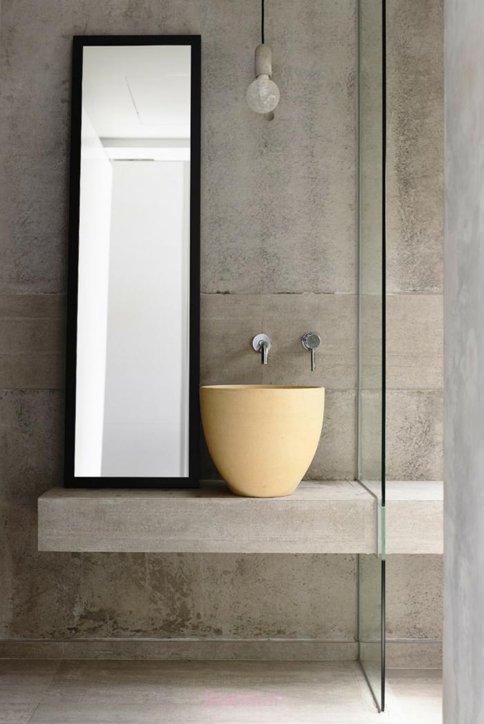 designer waschbecken gelb keramik schüssel hyla architects