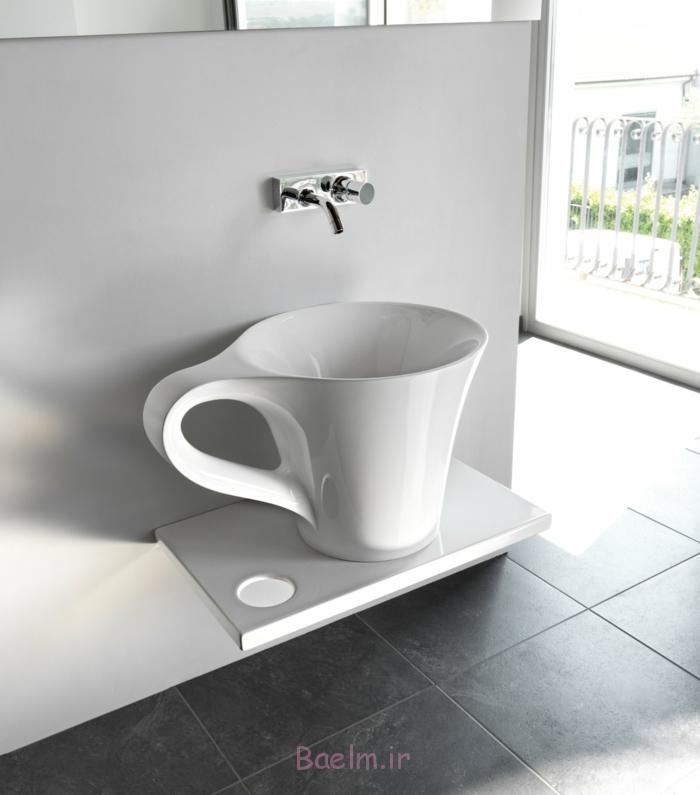 designer waschbecken kaffee tasse design weiß minimalistisch deivos