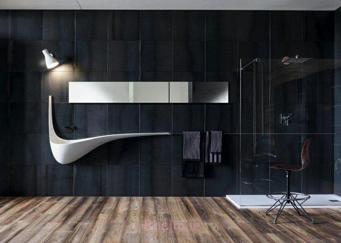 design waschbecken minimalistische badezimmereinrichtung modern