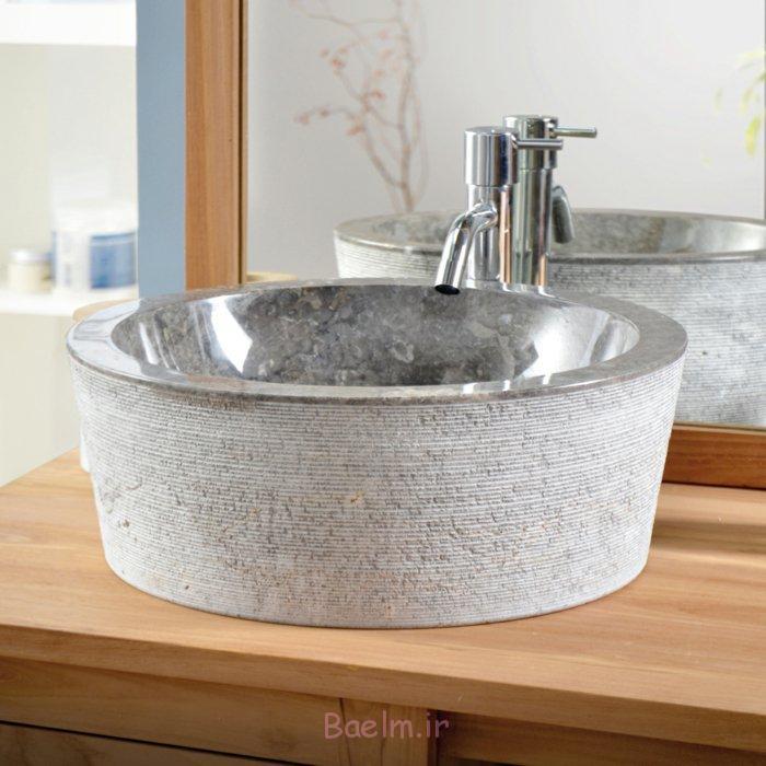 designer waschbecken rund marmor grau exo stri tikamoon.co.uk