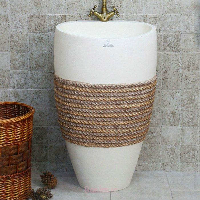 design waschbecken weiße keramik seil maritimes design aliexpress