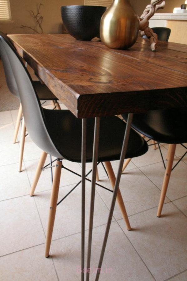 esszimmertisch mit stühlen schwarz esstisch holz esszimmer modern gestalten