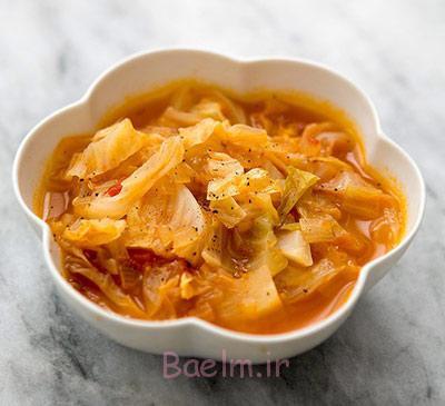 مواد لازم برای سوپ کاهو,نحوه پخت سوپ کاهو