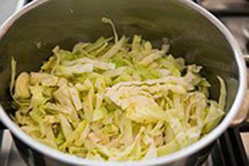 روش درست کردن سوپ کاهو, درست کردن سوپ کاهو