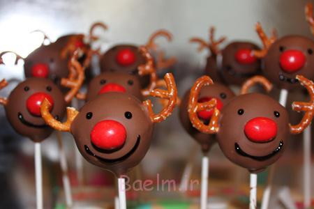 طرز تهیه شیرینی های کریسمس, تزیین شیرینی کریسمس به شکل گوزن