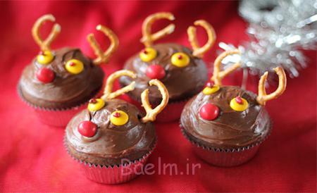 شیرینی گوزنی برای کریسمس, شیرینی به شکل گوزن