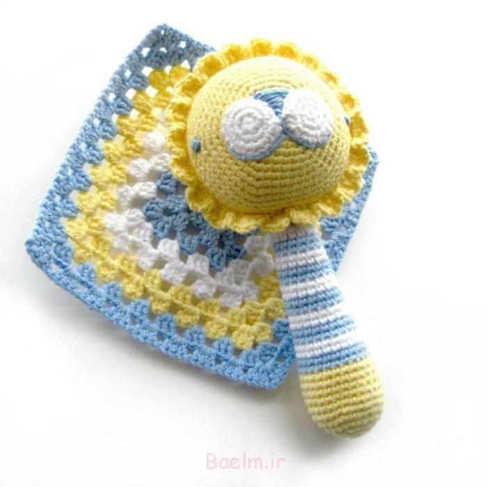 häkeln lernen strickarbeit babyrassel craftsy