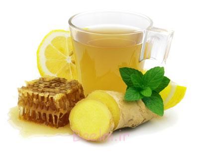 چای زنجبیل برای لاغری