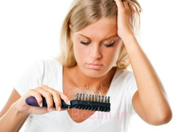 ریزش مو, علائم گردش خون ضعیف در بدن,علت سردی دست و پاها
