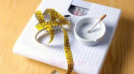 سیگار,ترک سیگار,افزایش وزن پس از ترک سیگار