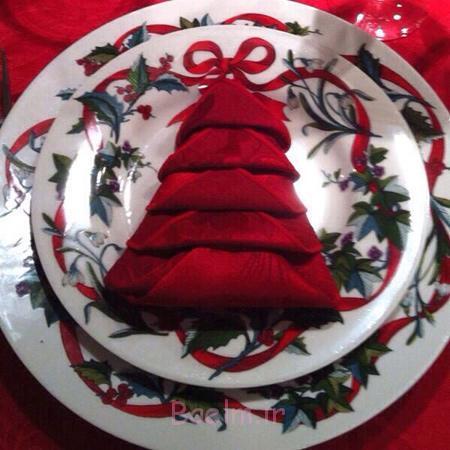 تزیین میز شام کریسمس, تزیین میز کریسمس