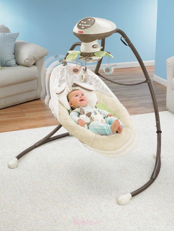 kindermöbel baby schaukel innovativ babyzimmer einrichten