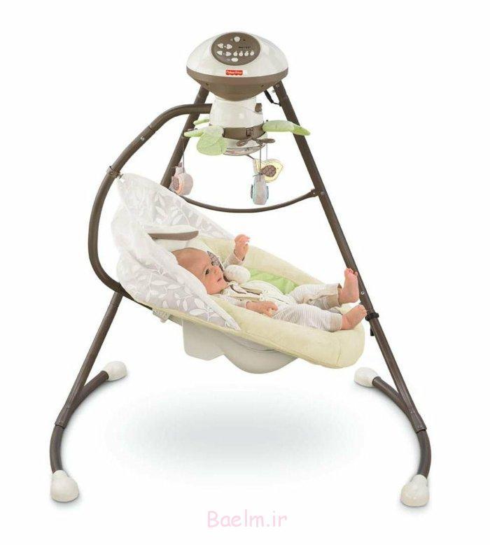 kindermöbel babyschaukel auswählen modern komfortabel
