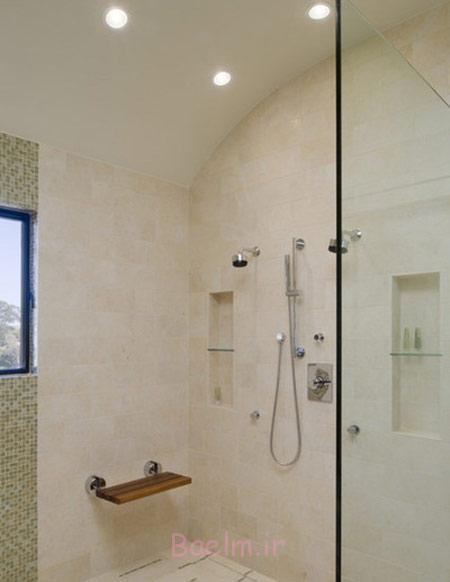 طراحی مقرون به صرفه سرویس بهداشتی, طراحی وان در حمام