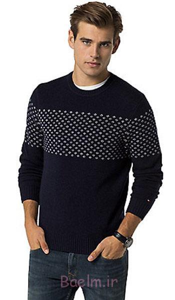 لباس زمستانی برند تامی هیلفیگر,مدل بافت زمستانی مردانه