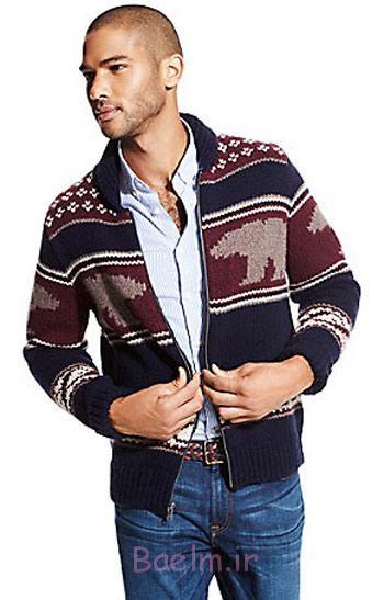 بافت زمستانی مردانه, لباس زمستانی مردانه برند تامی هیلفیگر