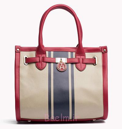 شیک ترین کیف های دستی,کیف زنانه برند تامی هیلفیگر