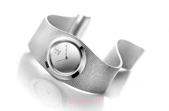 silver amazing watch design