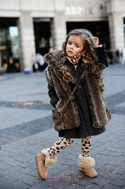 sweater, leggings, and boots with faux fur for kids (4)