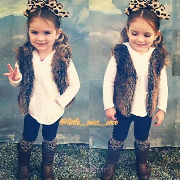 sweater, leggings, and boots with faux fur for kids (9)