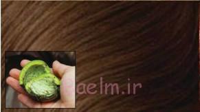پوست گردو برای موهای قهوه ای