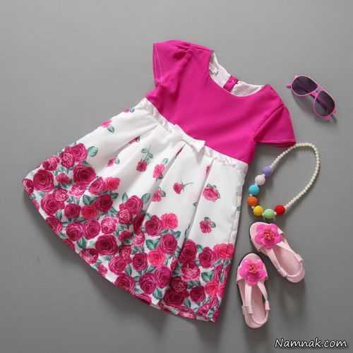 مدل لباس بچه گانه ، جدیدترین مدل لباس بچه گانه دخترانه ، لباس بچه گانه ترک
