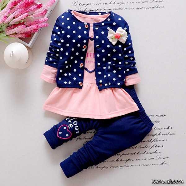 مدل لباس بچه گانه ، مدل لباس دخترانه زیر 3 سال ، مدل لباس بچه گانه دخترانه جدید