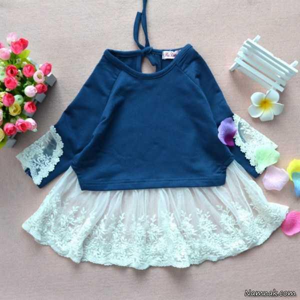 مدل لباس بچه گانه شیک ، لباس بچه گانه ، لباس بچه گانه دختر