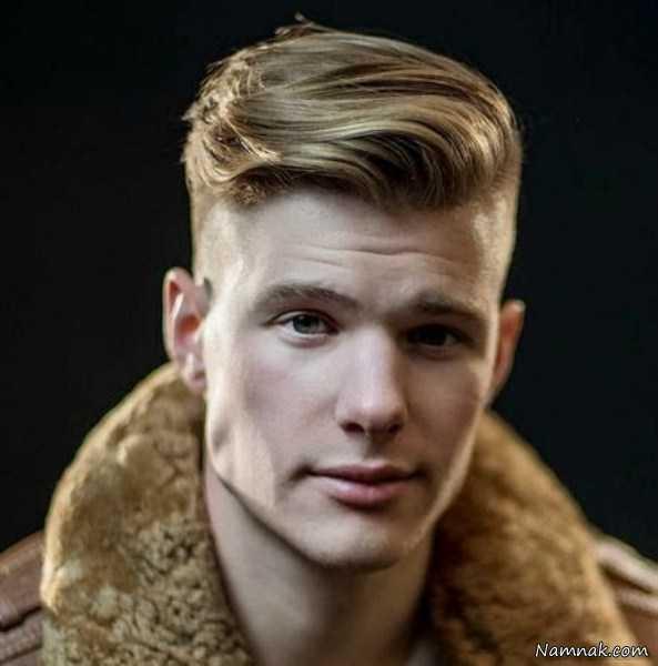 مدل موی مردانه خامه ای ، مدل موی مردانه جدید ، مدل موی مردانه اروپایی