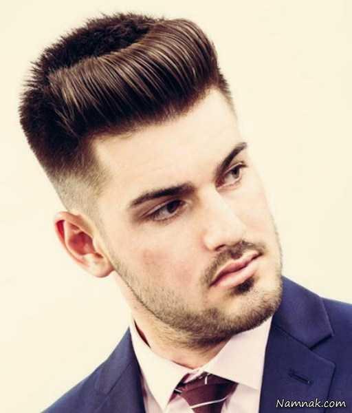 مدل موی مردانه جدید ، مدل موی مردانه اروپایی ، مدل موی مردانه برای صورت کشیده