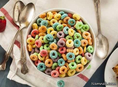صبحانه شیرین ، گرسنگی شدید ، چاقی شدید