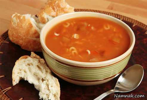 گرسنگی شدید با سوپ های اماده ، گرسنگی شدید ، چاقی شدید
