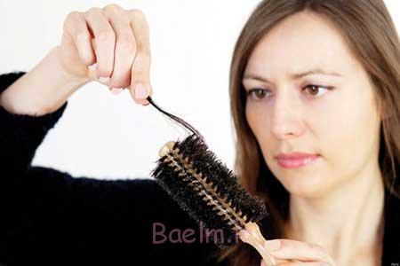 ریزش مو در زنان باردار
