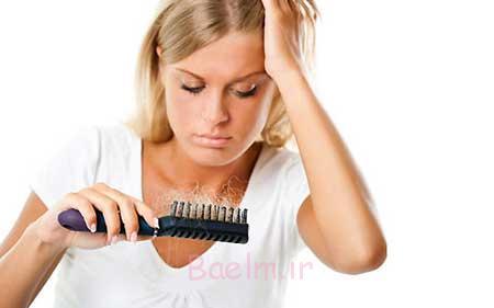 درمان ریزش مو در زنان باردار