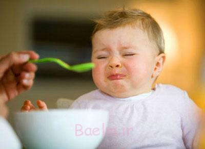 بدغذایی کودکان,بدغذایی در نوزادان
