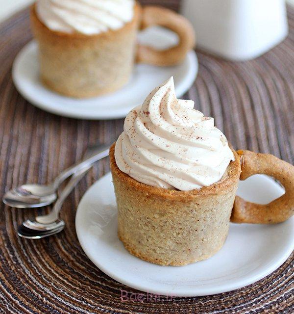 کیک فنجان قهوه