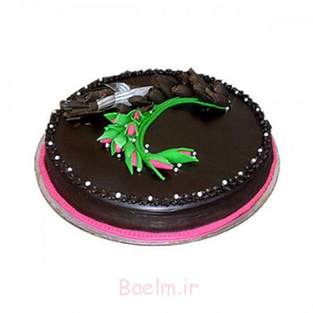 تزیین کیک شکلاتی خانگی,مدل تزیین کیک شکلاتی,طرز تزیین کیک شکلاتی