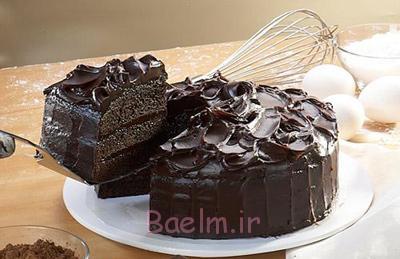 مواد لازم برای کیک شکلاتی,طرز تهیه کیک شکلاتی