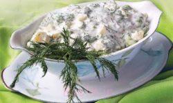 آموزش انواع سالاد و پیش غذا | طرز تهیه سالاد رژیمی سیب زمینی و شوید (مناسب برای مهمانی)