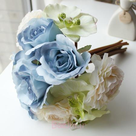 مدل دسته گل عروس سال 95, دسته گل های عروس سفید