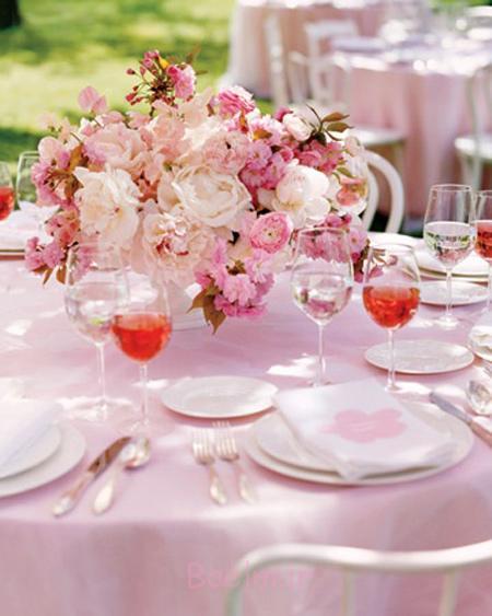 زیباترین تزیینات میز شام, اصول چیدمان میز