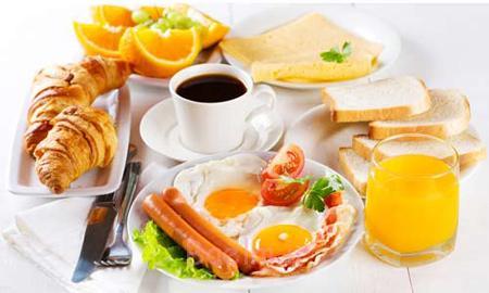 تزیینات تخم مرغ صبحانه,تزیین نیمرو