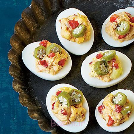 تزیین تخم مرغ برای بچه ها, تزیین تخم مرغ صبحانه