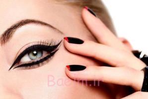 یک دستورالعمل عالی برای یک آرایش چشم زیبا!!