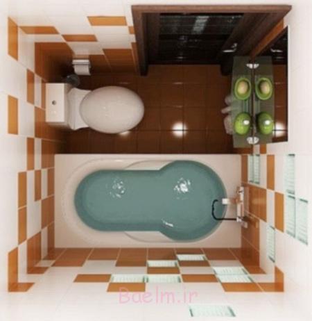دکوراسیون حمام های کوچک,مدل های  طراحی مدرن حمام و سرویس بهداشتی های کوچک در سال 2016